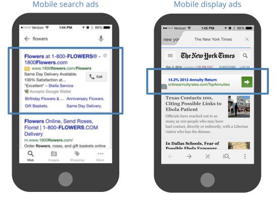 شبکه نمایش تبلیغات در گوگل