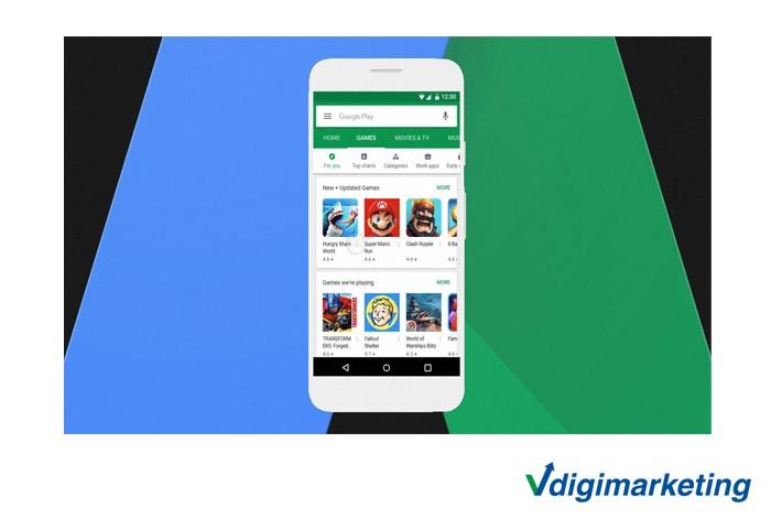 تبلیغات گوگل تلفن همراه