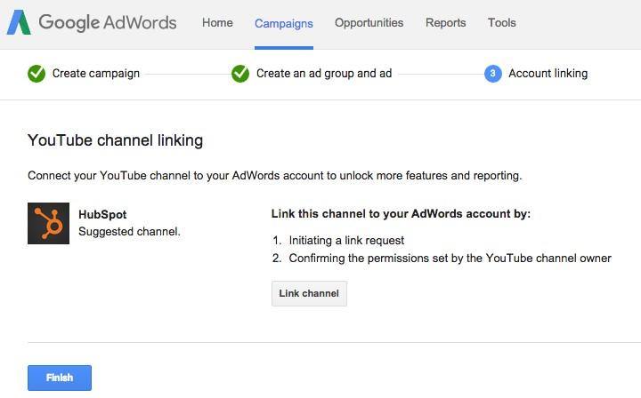 شما باید حساب تبلیغات در گوگل ادوردز خود را به کانال یوتیوبی مرتبط کنید که در آن ویدئو در صورت عدم حضور شما بعنوان میزبان در آن قرار دارد