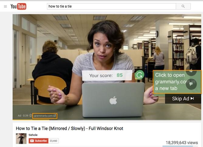 In-stream ads (تبلیغات در جریان)