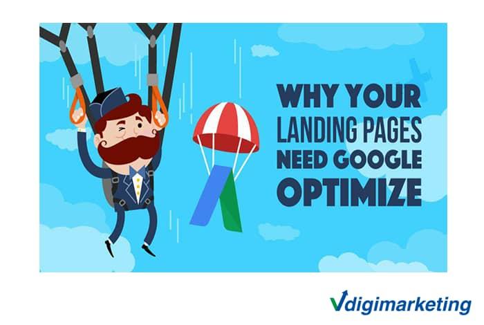 چگونگی ایجاد لندینگ پیج سفارشی با استفاده از Google Optimize