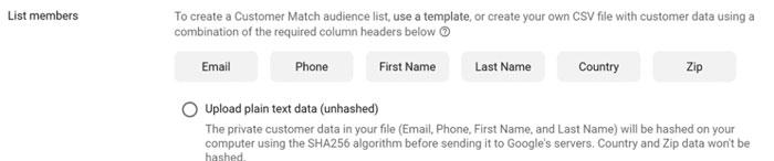 برای شروع کار با مشتری میتوانید لیستی از اطلاعات مشتری آپلود کنید و یا به سادگی آن را کپی و پیست کنید