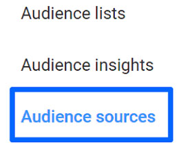 Audience sources