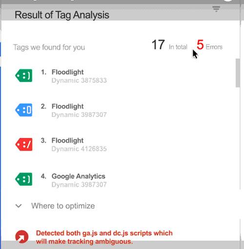 میتوانید کار خود را با Google Tag Assistant چک کنید
