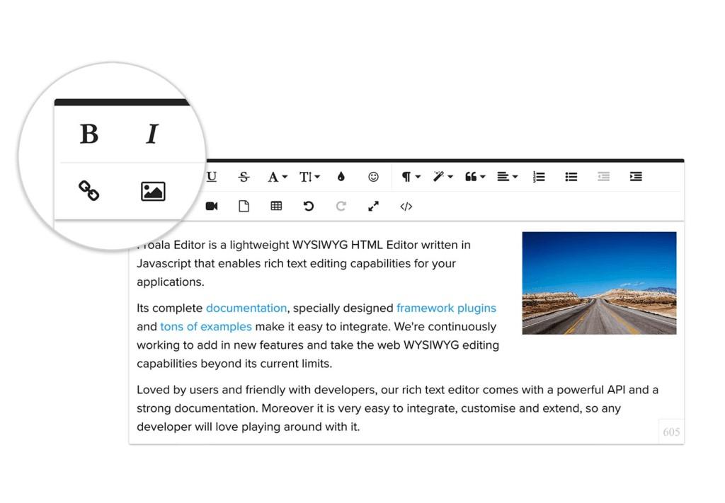این ویراستاران editors حاوی چندین عنصر برای کمک به شما می باشد