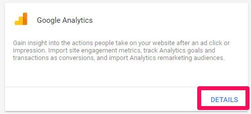 Google Analytics را پیدا کنید