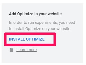 Optimize را بر روی وب سایت خود نصب کنید