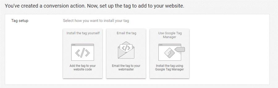 اگر یک وب مستر ندارید و نمیدانید چطور خودتان برچسب را نصب کنید، میتوانید از مدیر برچسب گوگل استفاده کنید که این فرآیند را خودکار انجام میدهد.