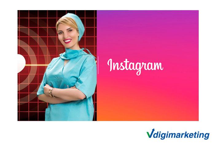 تبلیغات در اینستاگرام - تبلیغات اسپانسر اینستاگرام - تبلیغ در اینستاگرام - جذب بیمار خارجی - دکتر هندسی