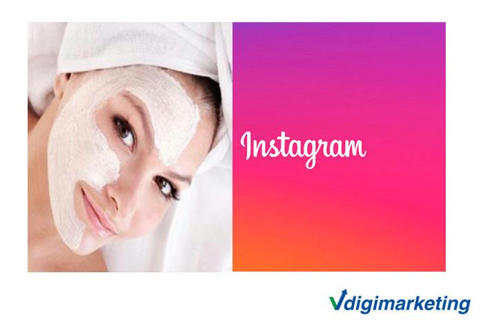 تبلیغات در اینستاگرام کلینیک زیبایی هلیا