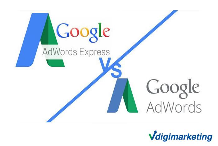 تبلیغات گوگل ادز با تبلیغات گوگل ادز اکسپرس چه فرقی دارد؟